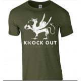 KNOCK OUT FESTIVAL «Greif green» T-Shirt