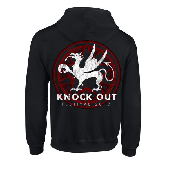 KNOCK OUT FESTIVAL «Festival 2018» Zip-Hoodie