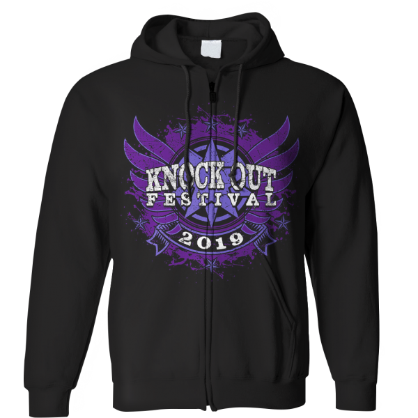KNOCK OUT FESTIVAL «Festival 2019» Zip-Hoodie